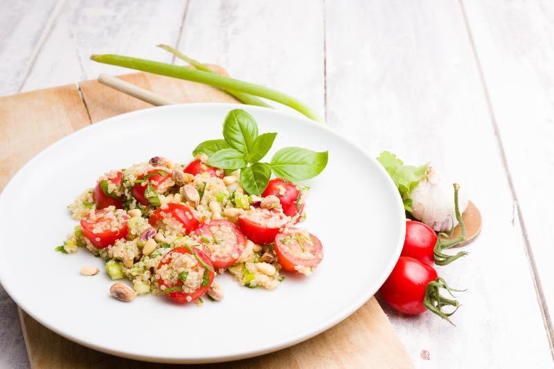 pistachio and quinoa recipe