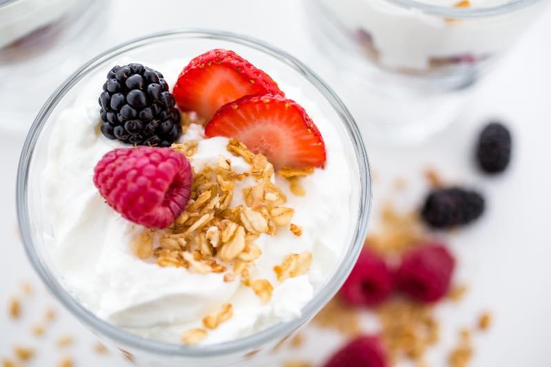 best yogurt parfait for gut