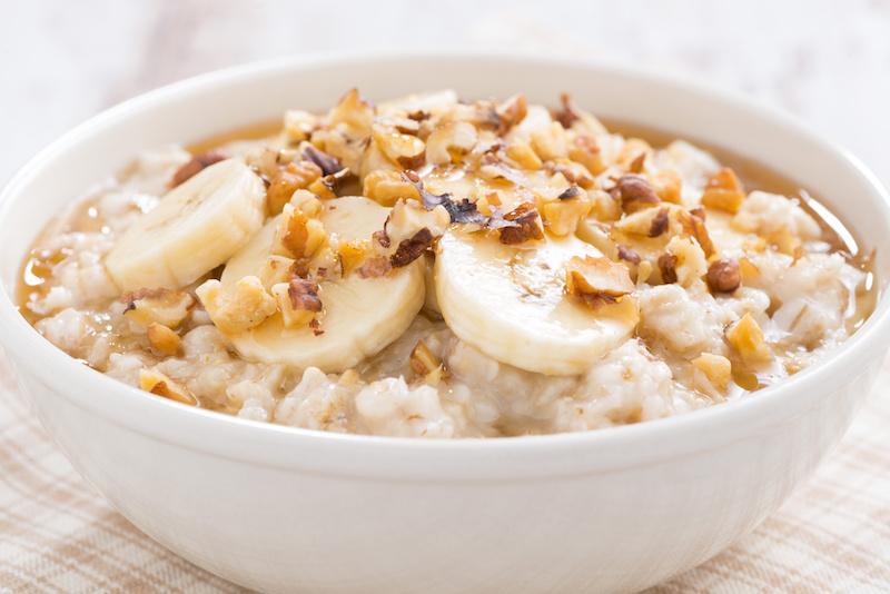 banana pudding oatmeal